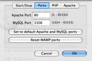 Reset your MAMP ports to the application defaults. it'll make browsing to your site easier, and also application configuration will be more standard.